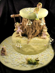 Chloe's Fairy Cake! (Dot Klerck....) Tags: party tree cake southafrica chloe capetown dot pixie fairy cupcakesbydesign