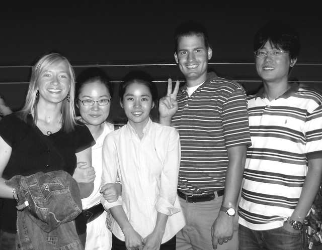 5 of us Seoul Tower
