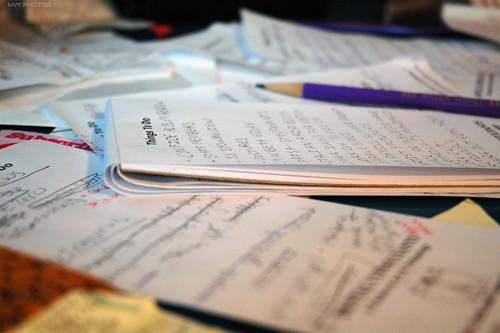 I am a compulsive listmaker.