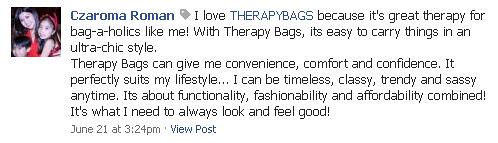 Facebook - THERAPYBAGS, laptop bag, winner