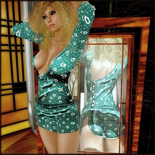 Jente i speilet