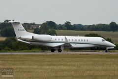 D-AKAT - 14501038 - Stuttgarter Flugdienst SFD - Embraer EMB-135BJ Legacy - Luton - 100803 - Steven Gray - IMG_0985