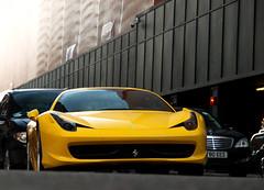 458 (Philipp Lcke) Tags: uk red london cars car yellow mercedes italia action unitedkingdom sweden rr rollsroyce olympus ferrari donut e3 bugatti coupe spotting ccr koenigsegg amg carspotting 458 ccx torquise eor drophead specialone itlalia burnour c63 ccxr exoticsonroad