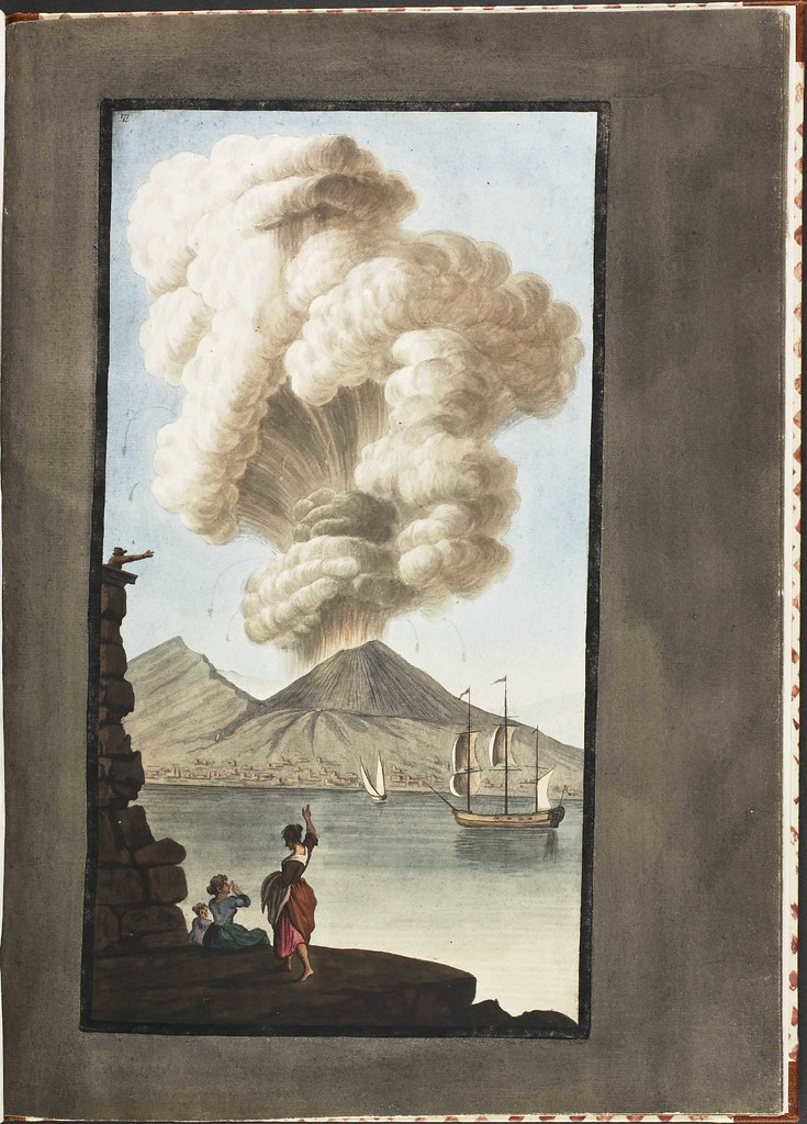 Plate 3, eruption of Mt. Vesuvius, 1779 August 9 (supplement)