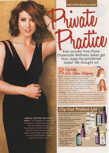 Sophisticates HairStyles Guide Kate Walsh & Private Practice Spring 2010 Pg