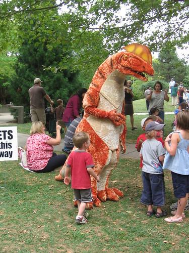 Dilly the Dilophosaurus