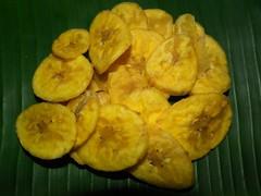 banana chips (AnoopRED) Tags: food fuji onam sadhya sadya hs10 onasadya onamfeast keralameal malayalikkoottam keralakitchen