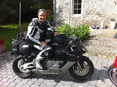 Bike Trip - 2010 - Stop off Belgum (Militarydiver) Tags: bike europe roadtrip biker