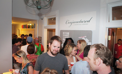 4925067314 11368322a8 Recap: Two Years of Austin Coworking   Anniversary Party