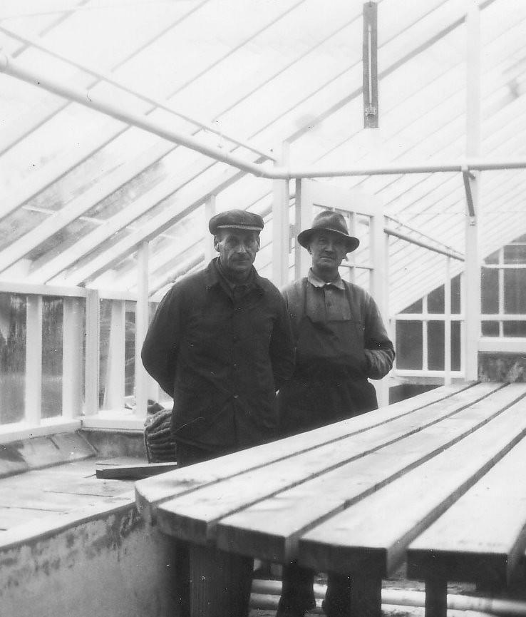 Jens Christensen og Hans Jensen, havemænd