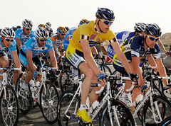 Wouter Mol (NL), Tour of Qatar leader