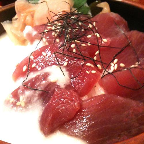 飛鳥居酒屋 山藥鮪魚丼飯