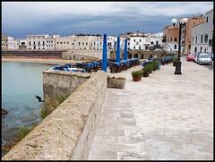 Gallipoli, Puglia, Salento, veduta del borgo antico (emilius da atlantide) Tags: emilius