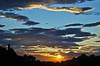 Un sospiro (the_lighter) Tags: sunset mountains silhouette clouds montagne 50mm nikon tramonto nuvole belvedere alto sunbeams abruzzo raggi solari d60 paese tortoreto albaadriatica