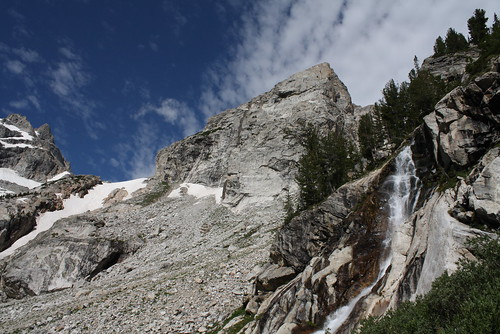 Spalding Falls and the Middle Teton