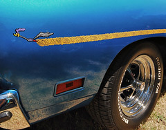 Acme Car Company (Dave Renwald) Tags: musclecars roadrunner beepbeep chromewheels 1969roadrunner bluepaintjob