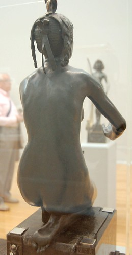 Edward Onslow Ford - Applause - Tate Britain Aug 2010 back (facing The Singer)