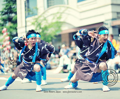 Yosakoi Dance Japan (Glenn Waters in Japan.) Tags: street festival japan japanese dance nikon action bokeh aomori  hirosaki matsuri japon yosakoi       nikkor85mmf14d nikkor85mm14d d700 nikond700  glennwaters