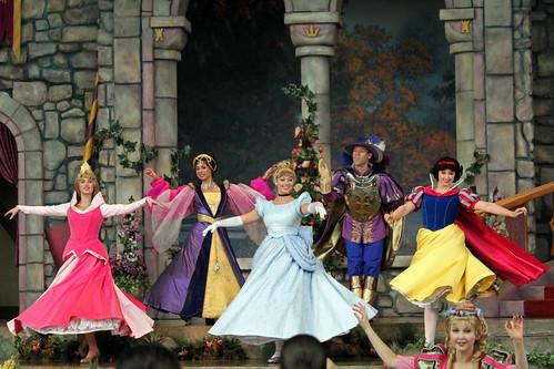 Royal Coronation Ceremony at Princess Fantasy Faire