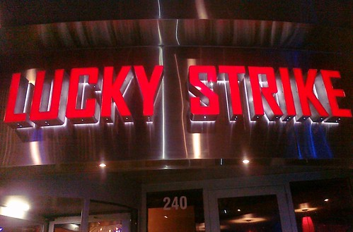 Lucky Strike at CityScape in Phoenix