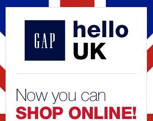 Gap UK online shopping