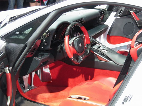 LEXUS LFA Sports Car