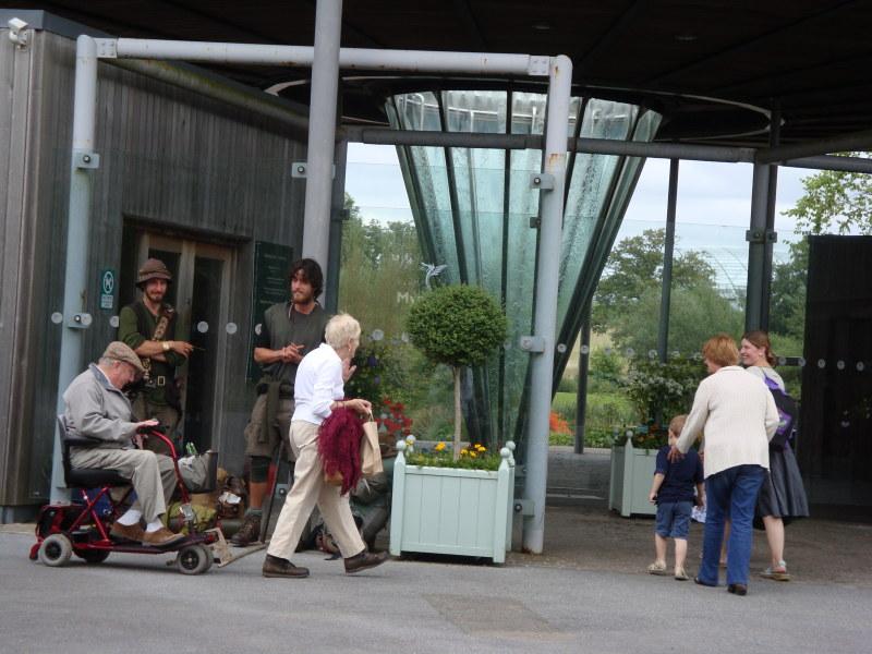 Welsh Botanic Garden Busk