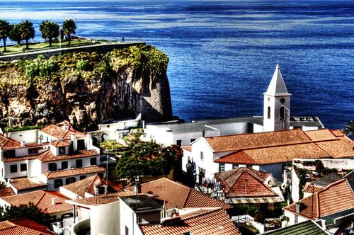 Curch. Iglesia. Cámara de lobos. Madeira. Portugal