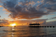 Hanalei Pier Sunset (Loco Moco Photos) Tags: sunset vacation island hawaii paradise kauai tropical hanaleipier