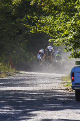 B_Off In a Cloud of dust (ETCphoto) Tags: bike race michigan dirt traversecity 8485 thehump gtcommons thethirdcoastbicyclefestival twinbayracingcyclocross