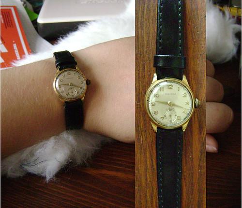 Grandma gave me her watch