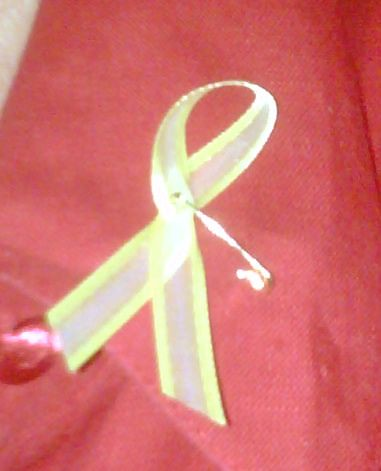 AFDW Yellow Ribbon for Women's Equality