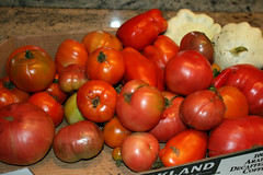 tomatoes in a pile
