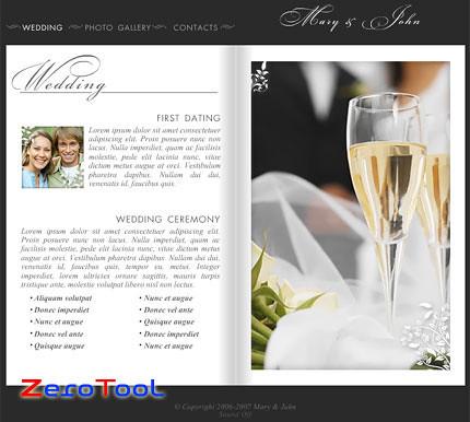 FlashMint 2020 Wedding photo album flash template
