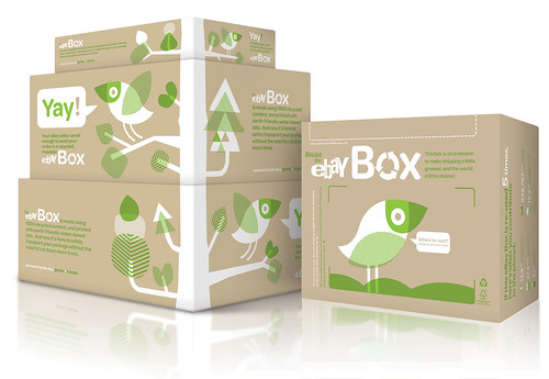 Side view of the eBay Box