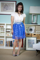 blue lace (bethantics) Tags: blue wardroberemix whatiworetoday todaysoutfit
