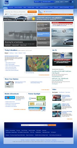 Weather.com Redesigned