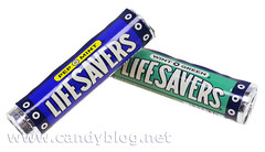 LifeSavers PepOMint WintOGreen Throwback Packaging