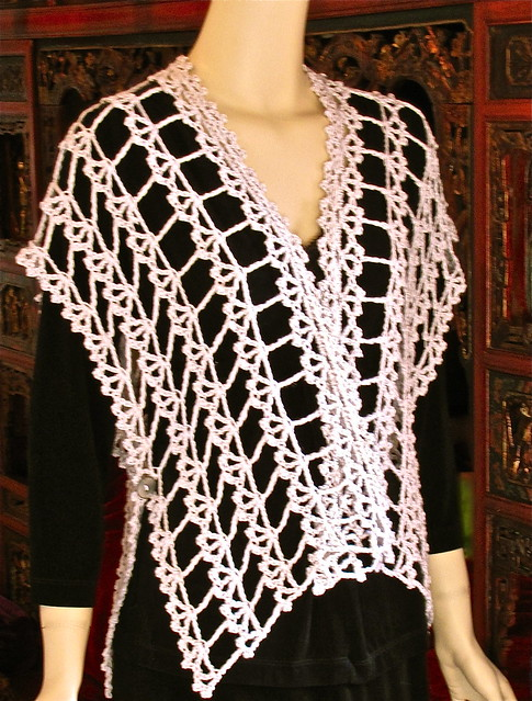 Crochet Ruana Wrap Pattern Your Hook Your Yarn by crochetgal