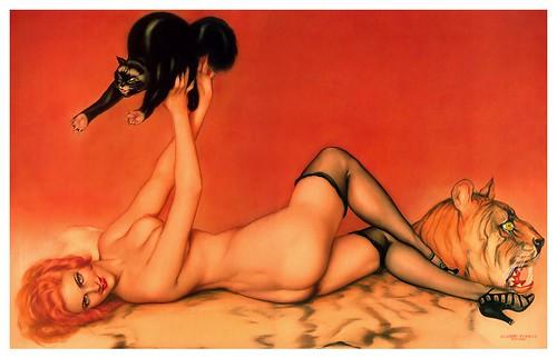 005-Alberto Vargas- Mujer con gato-terminada-1915
