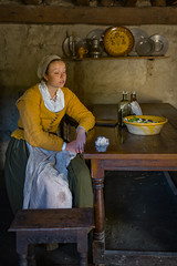 A1003252 (sswee38823) Tags: plimothplantation pilgrim pilgrims 17centuryreenactment 17thcentury women woman inside interior costume reenactment plymouth plymouthma plymouthplantation museum live newengland leica leicam leicacamera m10 leicam10 summiluxm11435asph summilux35 leicasummiluxm35mmf14asphfle leicasummilux35 summilux 35mm 35 f14 people photography photograph photo seansweeney