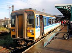 153335 (R~P~M) Tags: train railway dmu multipleunit 153 sprinter angliarailways ipswich suffolk england uk unitedkingdom greatbritain diesel