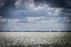 In Holland we live off the wind! (http://www.paradoxdesign.nl) Tags: kite surfing energy wind sailing sailboat sky clouds water markermeer netherlands holland dutch sport leisure sun summer horizon mills lonely alone people man west friesland noord north