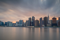 NYC Skyline at Sunset (Jemlnlx) Tags: canon eos 5d mark iv 4 5d4 5div new york city ny nyc queens borough long island east river fireworks firecrackers 4th fourth july 2017 macys macy display skyline empire state building esb sunset