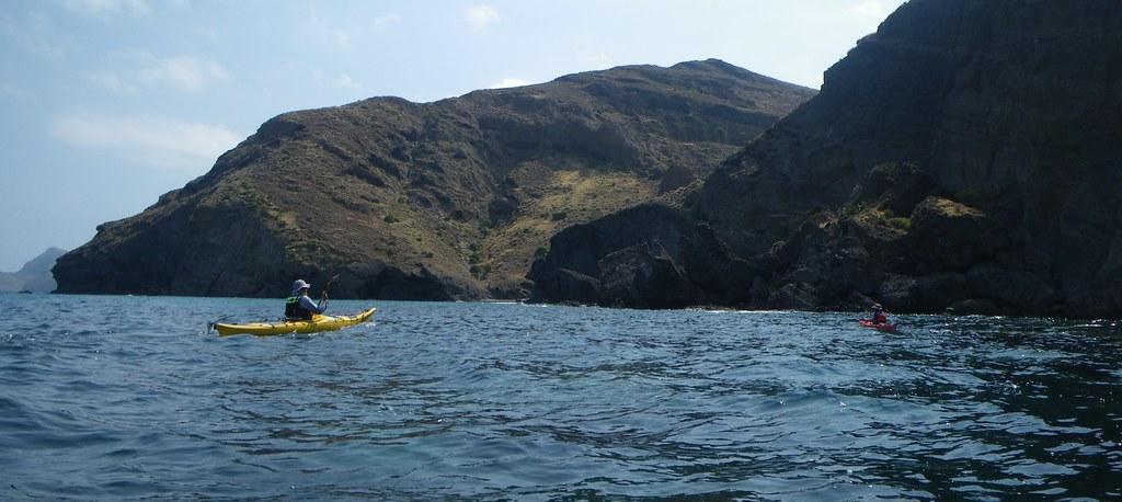 Cabo de Gata en kayak 212