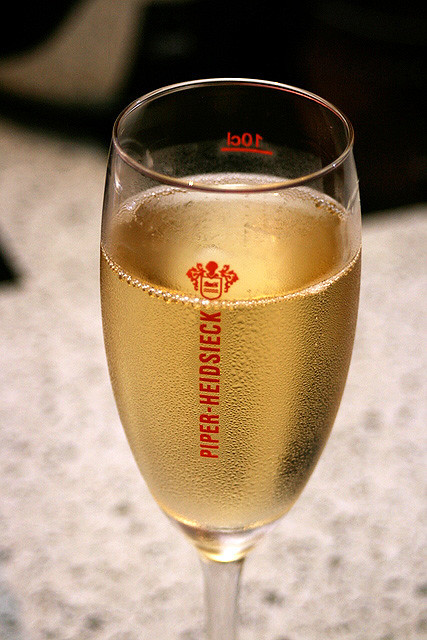 Freeflow champagne from sponsor and official preferred champagne Piper Heidsieck