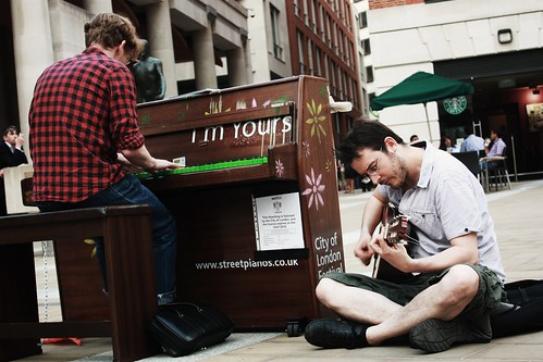 Street Piano - St. Paul's