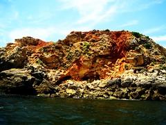 (Amy Dominique) Tags: ocean sea cliff beach portugal water rock cave albufeira