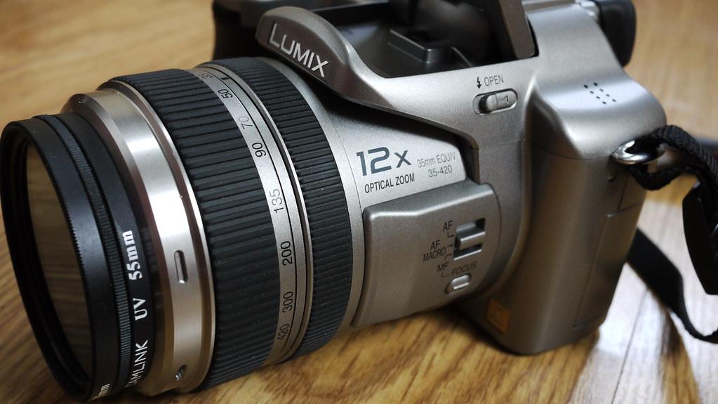 FZ50 side aspect