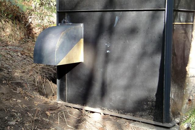 panelbox hut - composting loo